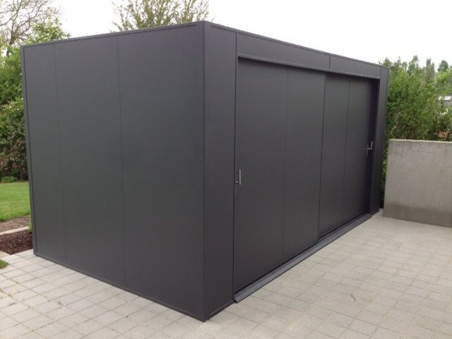 alu gartenhaus ger tehaus my blog. Black Bedroom Furniture Sets. Home Design Ideas