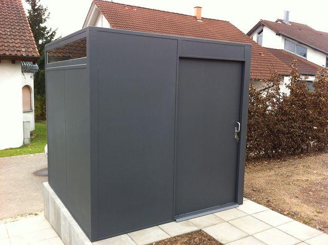 Stahl Gartenhaus fmh: gerätehäuser/ design gartenhäuser, fmh metallbau und holzbau