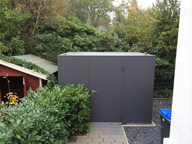 Wohnzimmer und Kamin gartenhaus stuttgart : FMH: Geru00e4tehu00e4user/ Design Gartenhu00e4user, FMH Metallbau und ...