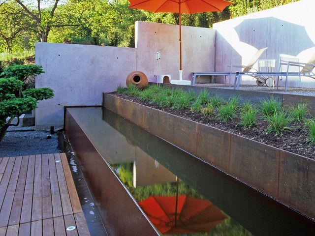 Wasserbecken Garten fmh wasserbecken fmh metallbau und holzbau stuttgart fellbach