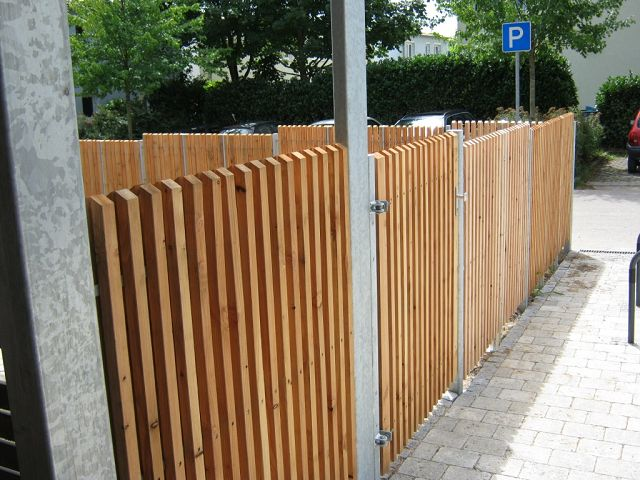 Sichtschutz stahl l rche kollektion ideen garten design - Zaunfabrik natur de ...