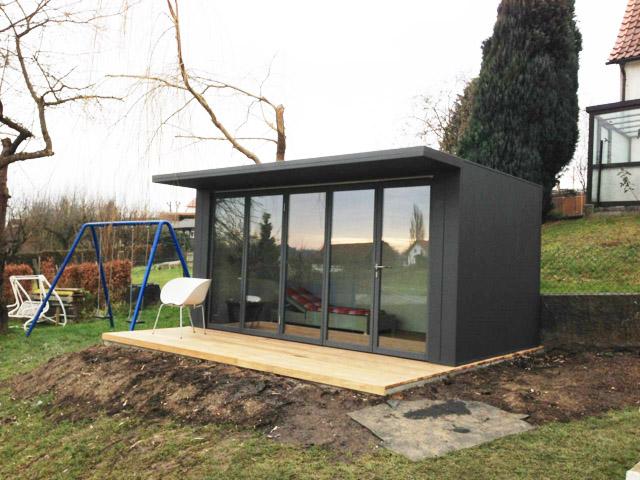 Fmh ger teh user design gartenh user fmh metallbau und - Gartenhaus glasfront ...